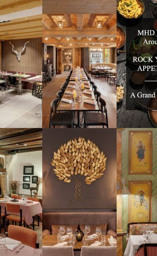 Dine Around Morosani Hotels in Davos