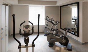 "Cardio room at the Morosani ""Schweizerhof"" in Davos"